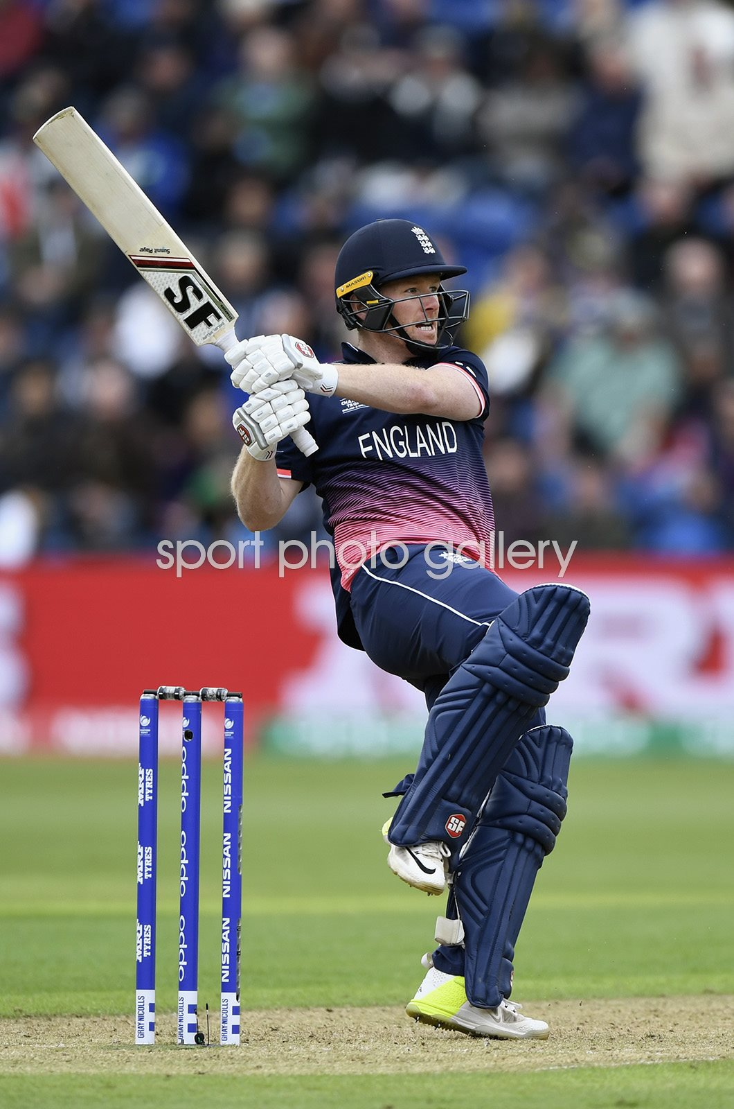 Eoin Morgan England v New Zealand Champions Trophy 2017