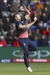 Mark Wood England v New Zealand Champions Trophy 2017 Canvas