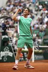 Dominic Thiem beats Novak Djokovic French Open 2017 Prints