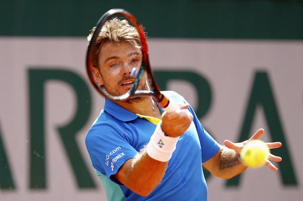 Stan Wawrinka Switzerland French Open 2017