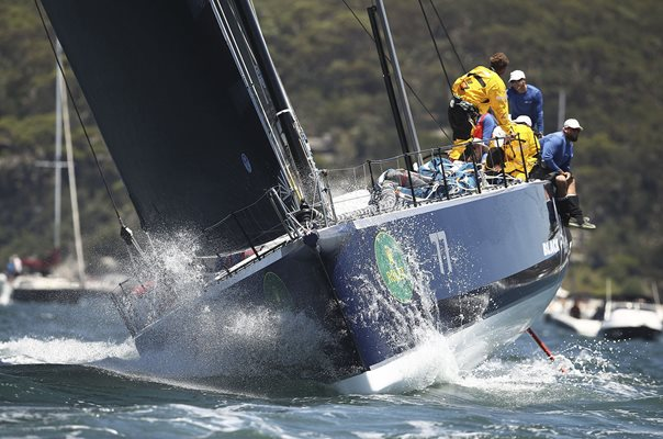 Black Jack 2016 Sydney To Hobart Start
