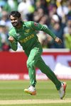 Mohammad Hafeez Pakistan v South Africa Champions Trophy 2017 Prints