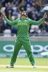 Hasan Ali Pakistan v South Africa Champions Trophy 2017 Prints