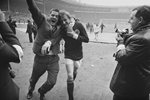 Denis Law Scotland beat England Wembley 1967 Prints