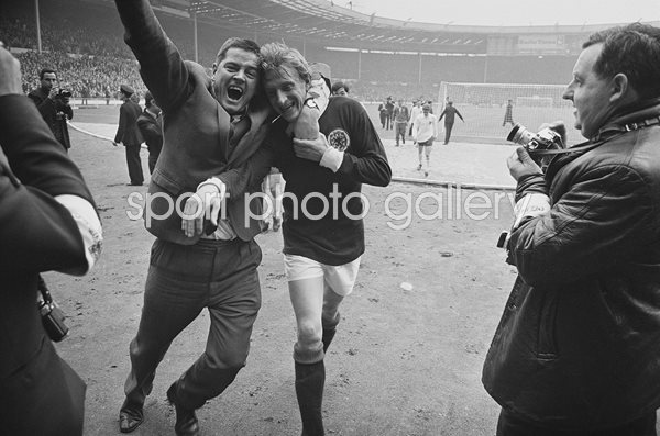Denis Law Scotland beat England Wembley 1967