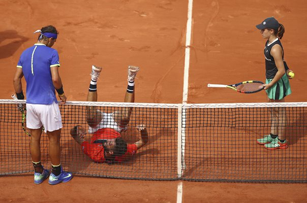 Rafael Nadal & Benoit Paire 2017 French Open