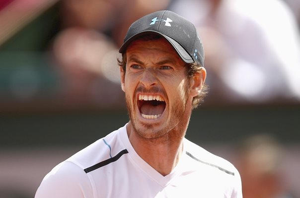 Andy Murray Great Britain French Open 2017