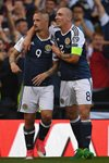 Leigh Griffiths Scotland scores v England Hampden Park 2017 Prints