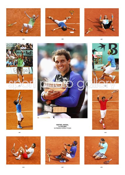 Rafael Nadal 10 French Open Titles Special