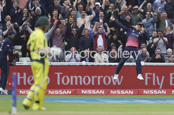 Jason Roy England Boundary Catch v Australia Champions Trophy 2017