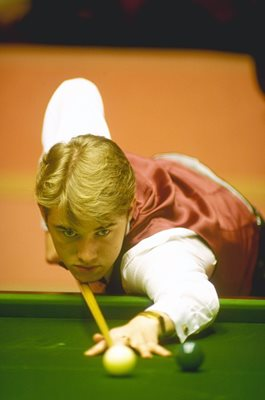 Stephen Hendry World Snooker Crucible 1991