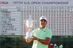 Brooks Koepka USA US Open Champion Erin Hills 2017 Prints