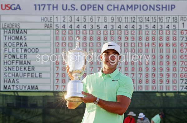 Brooks Koepka USA US Open Champion Erin Hills 2017