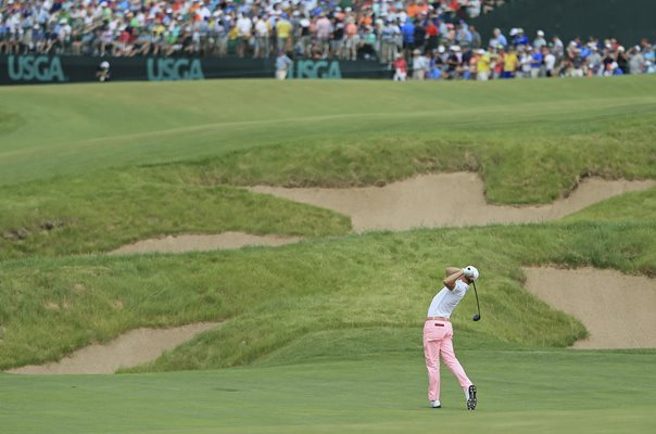 Justin Thomas 9 Under Par 63 US Open Erin Hills 2017