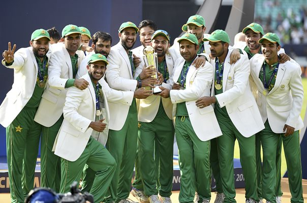 Pakistan Champions Trophy Winners 2017