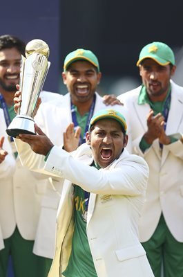Sarfraz Ahmed Pakistan Champions Trophy Winners 2017