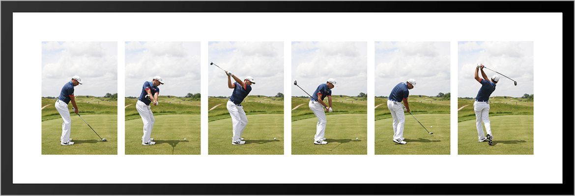 Sergio Garcia Swing Sequence
