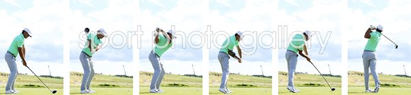 Brooks Koepka Swing Sequence US Open 2017