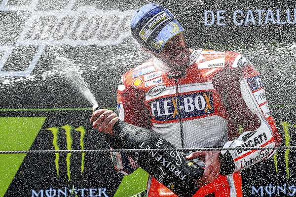 Andrea Dovizioso Moto GP of Catalunya 2017 Winner