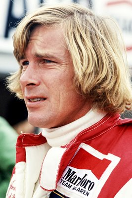 James Hunt Portrait British Grand Prix 1978