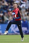 Mason Crane England v South Africa T20 Cardiff 2017 Mounts