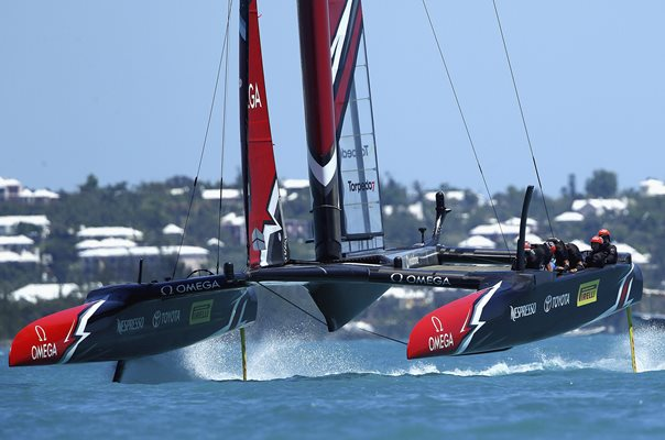 Emirates New Zealand America's Cup Match Bermuda 2017