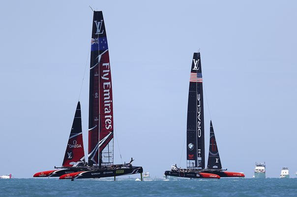 Team USA v New Zealand America's Cup Match Bermuda 2017