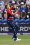 Tom Curran England v South Africa T20 Cardiff 2017 Prints