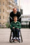 Tanni Grey-Thompson & Sir Steven Redgrave London 2001 Prints