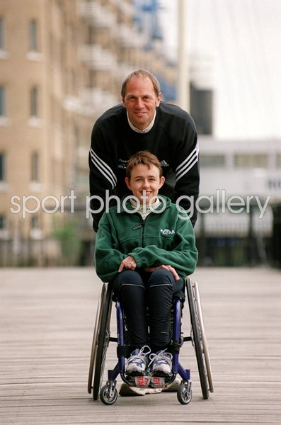 Tanni Grey-Thompson & Sir Steven Redgrave London 2001