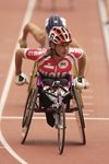 Tanni Grey-Thompson Wales Commonwealth Games Manchester 2002 Prints