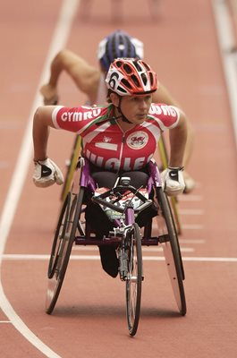 Tanni Grey-Thompson Wales Commonwealth Games Manchester 2002