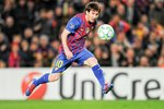 Lionel Messi scores for Barca Prints