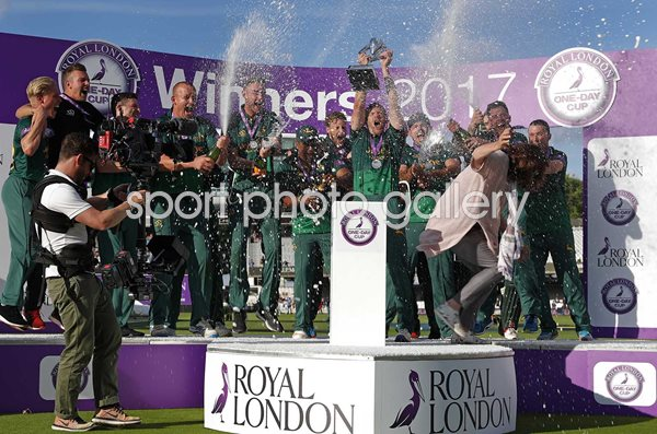 Nottinghamshire Royal London One Day Champions Lord's 2017
