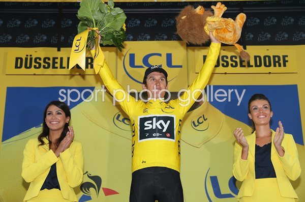 Geraint Thomas Yellow Jersey Tour de France 2017