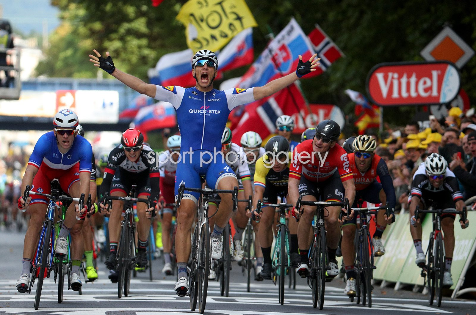 Marcel Kittel Germany wins Stage Two Tour de France 2017
