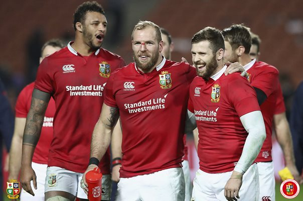 Courtney Lawes, James Haskell & Elliot Daly v Chiefs 2017