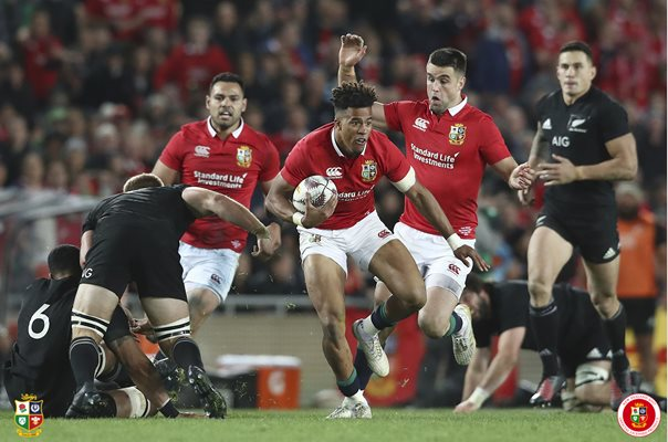 Anthony Watson British & Irish Lions v All Blacks Auckland 2017