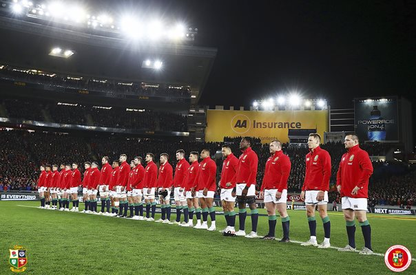 British & Irish Lions Line Up 1st Test Auckland 2017