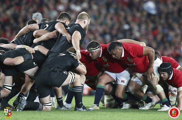 British & Irish Lions v All Blacks Scrum Auckland 2017