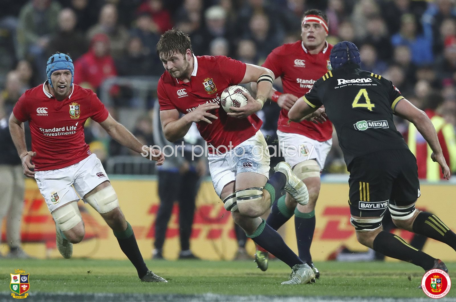 Iain Henderson British & Irish Lions v Hurricanes Wellington 2017