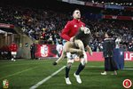 Sam Warburton leads out British & Irish Lions Wellington 2017 Prints