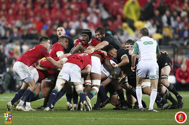 Maro Itoje British & Irish Lions v New Zealand Wellington 2017
