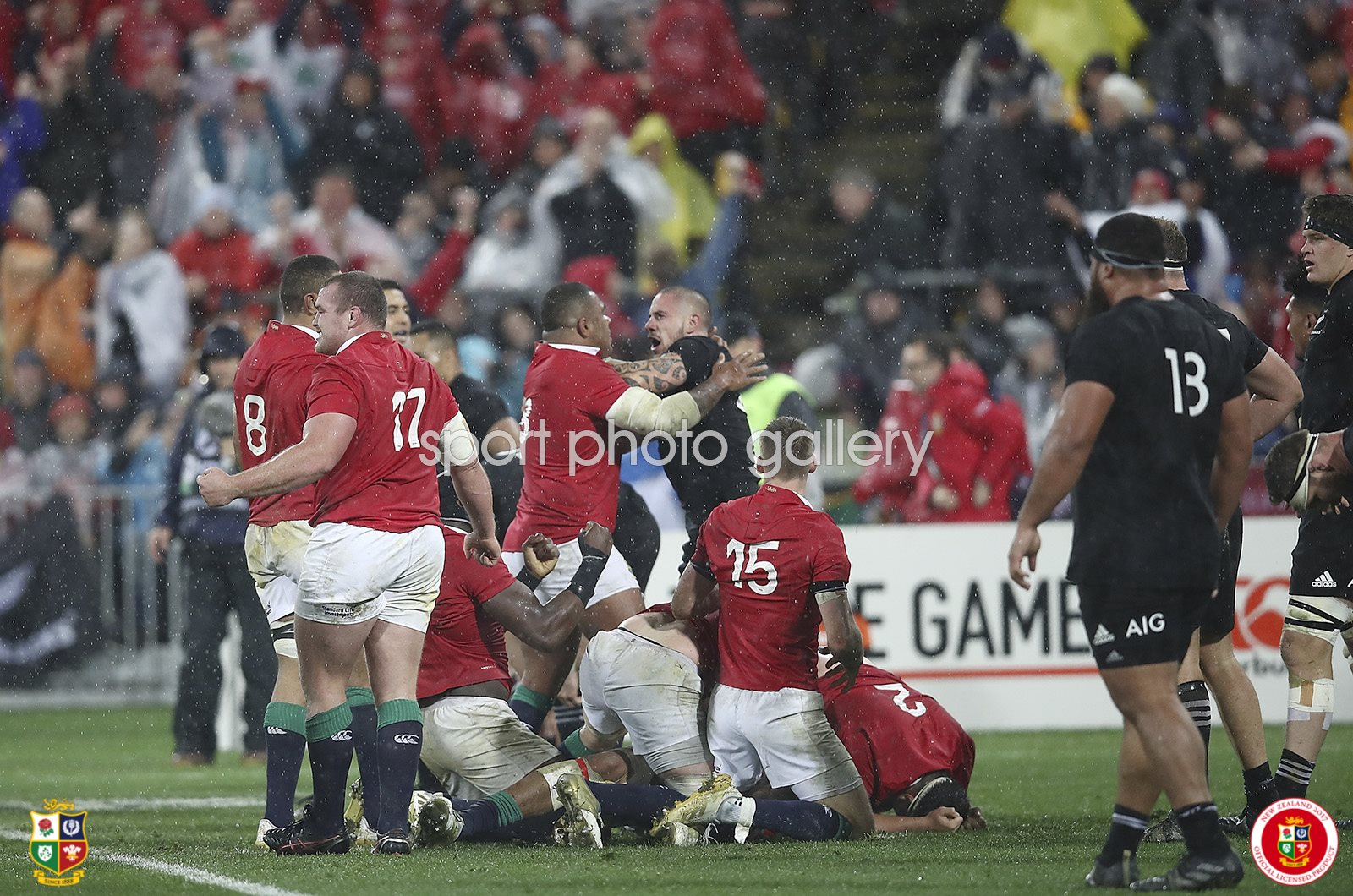 British & Irish Lions beat New Zealand Wellington 2017