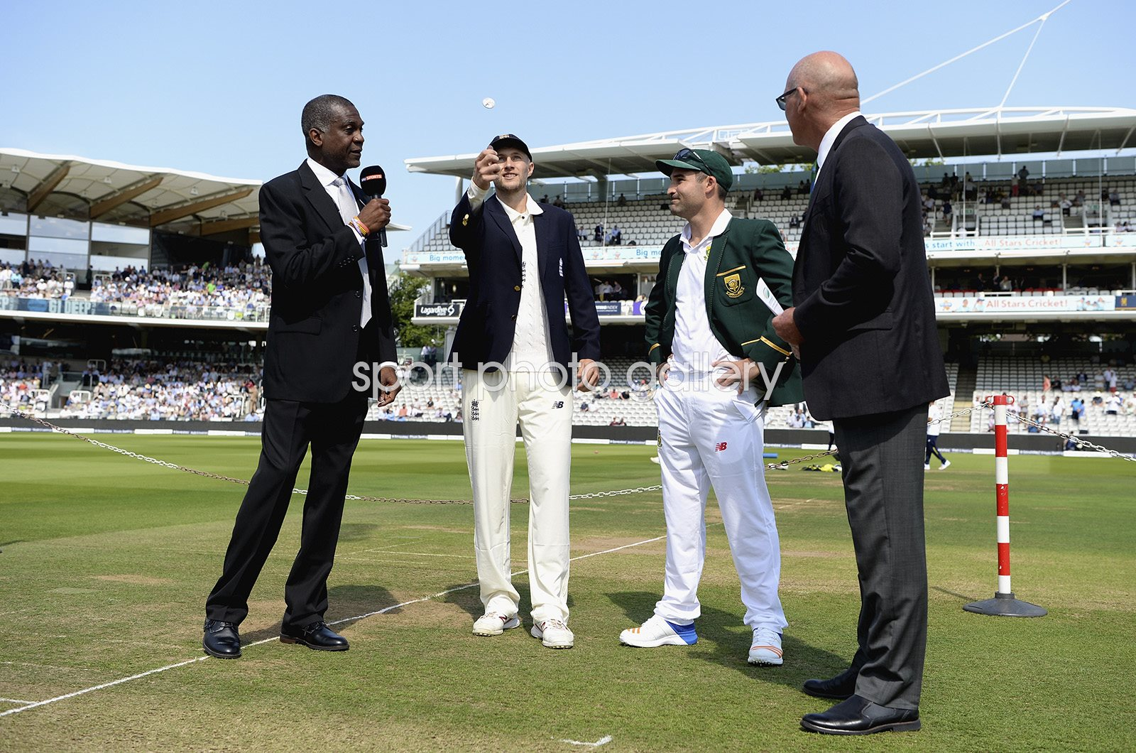 New Captains Joe Root England & Dean Elgar South Africa Lord's 2017
