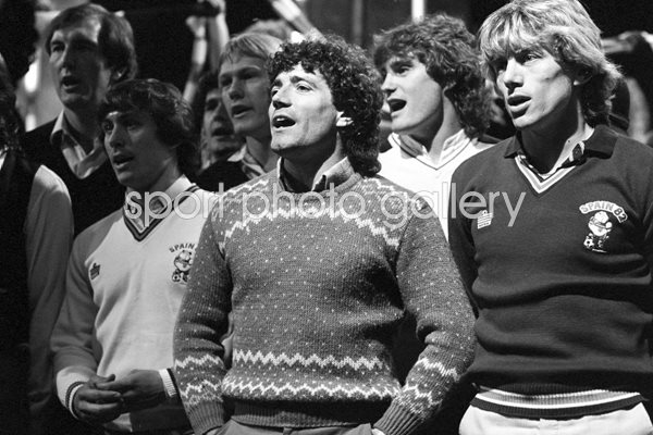 England Sing World Cup Song 1982