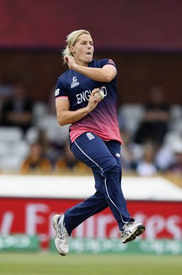 Katherine Brunt England v India Women's World Cup 2017
