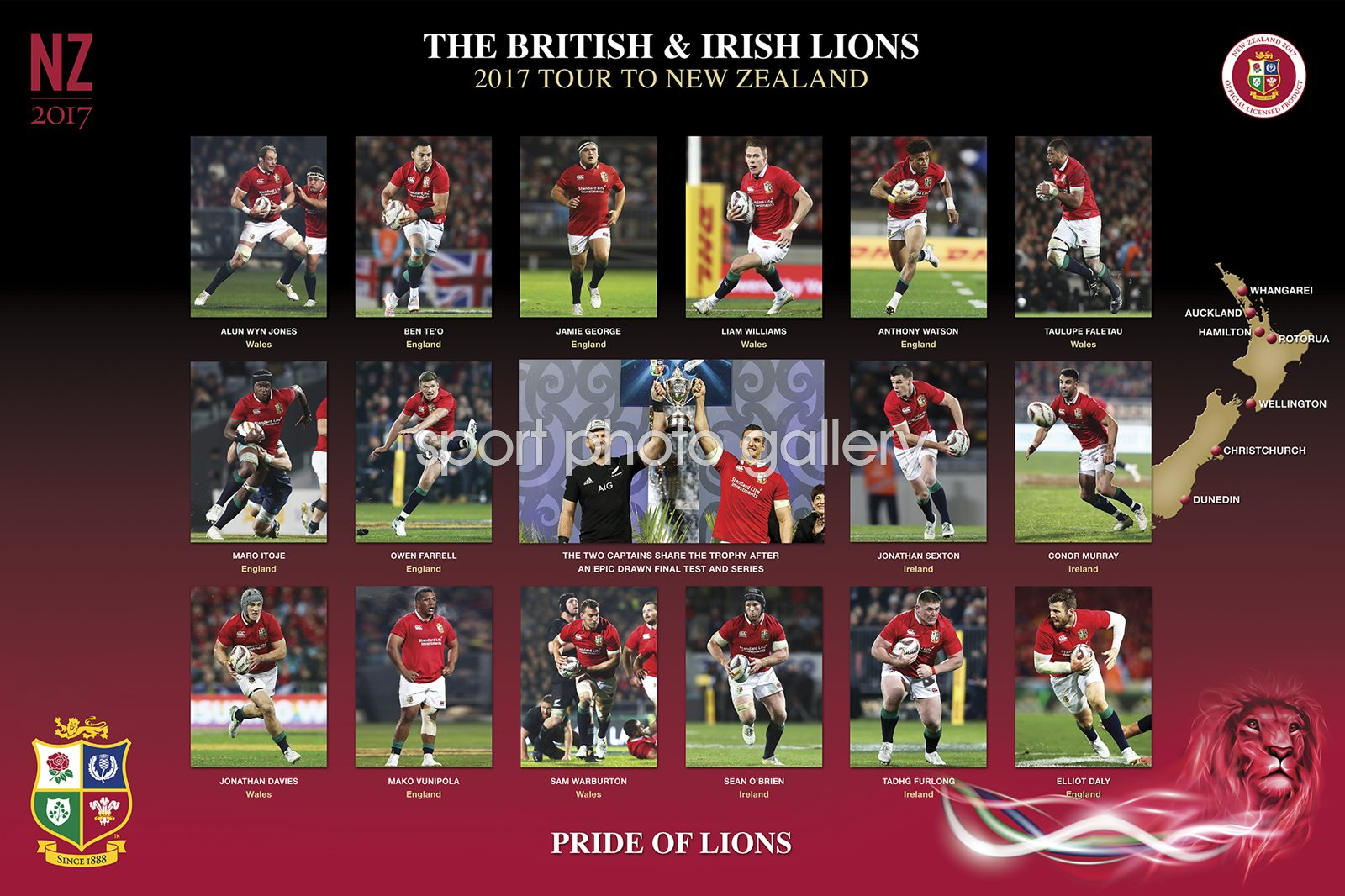 2017 Pride of Lions