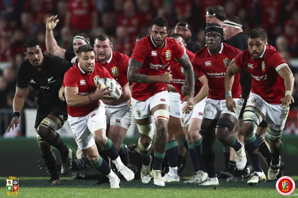 Rhys Webb British & Irish Lions v New Zealand Auckland 2017