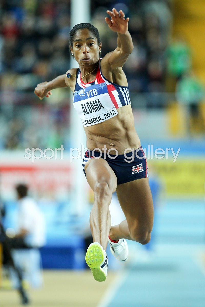 Yamile Aldama World Indoor Triple Jump Champion 2012